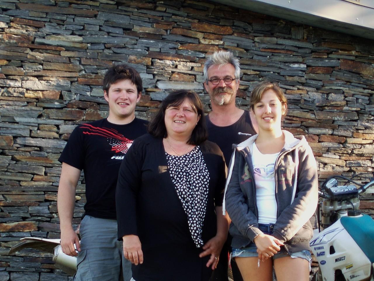 Pascal, Isabelle, Raphael et Marion