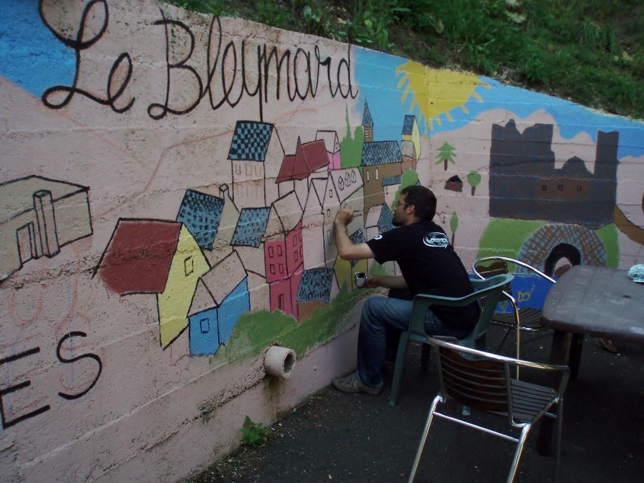 Le village du Bleymard aussi.