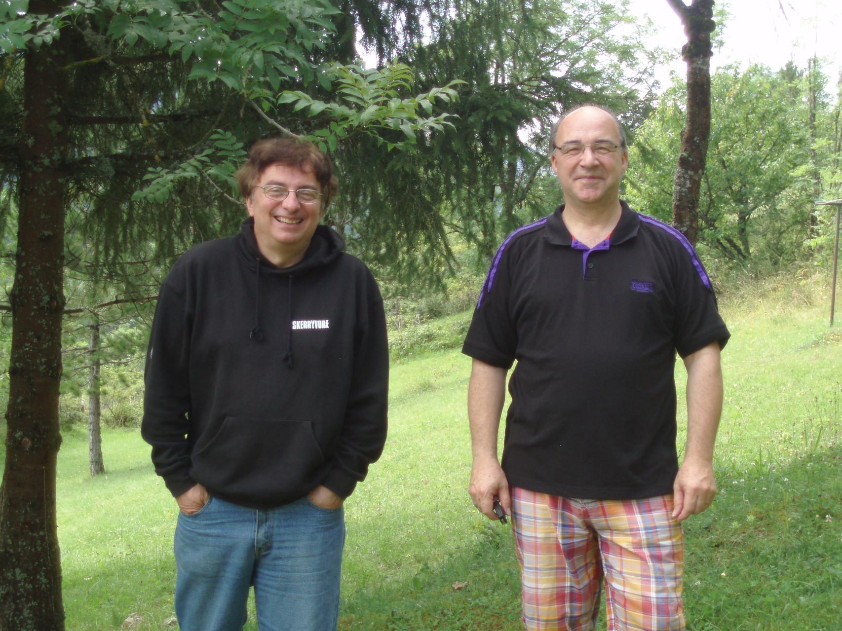 Jean-Jacques et Francis, les révolutionnaires.
