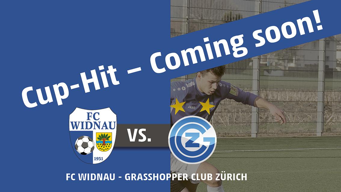 CUP-HIT – FC Widnau vs. Grasshopper Club Zürich