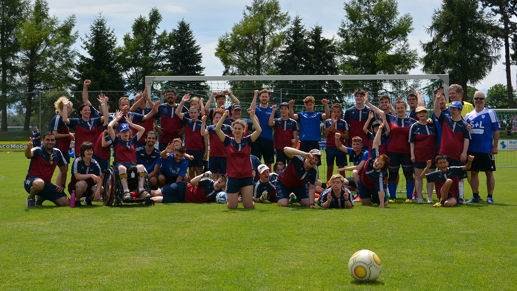 PluSport zu Gast beim FC Widnau
