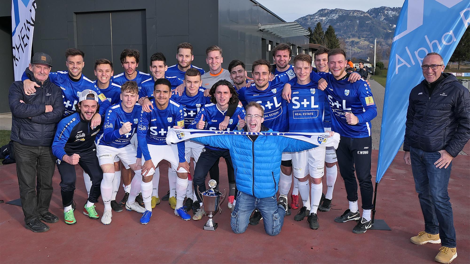 Keine Titelverteidigung für den FC Widnau am Alpha-Cup 2021