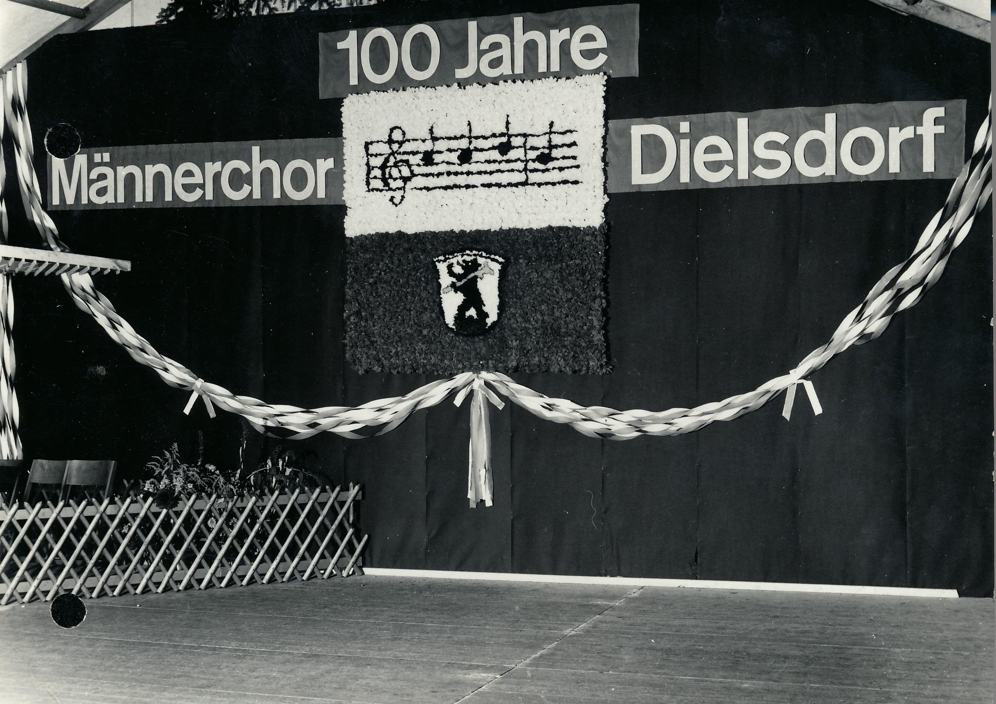Bezirkssängerfest Dielsdorf::30.6.1968