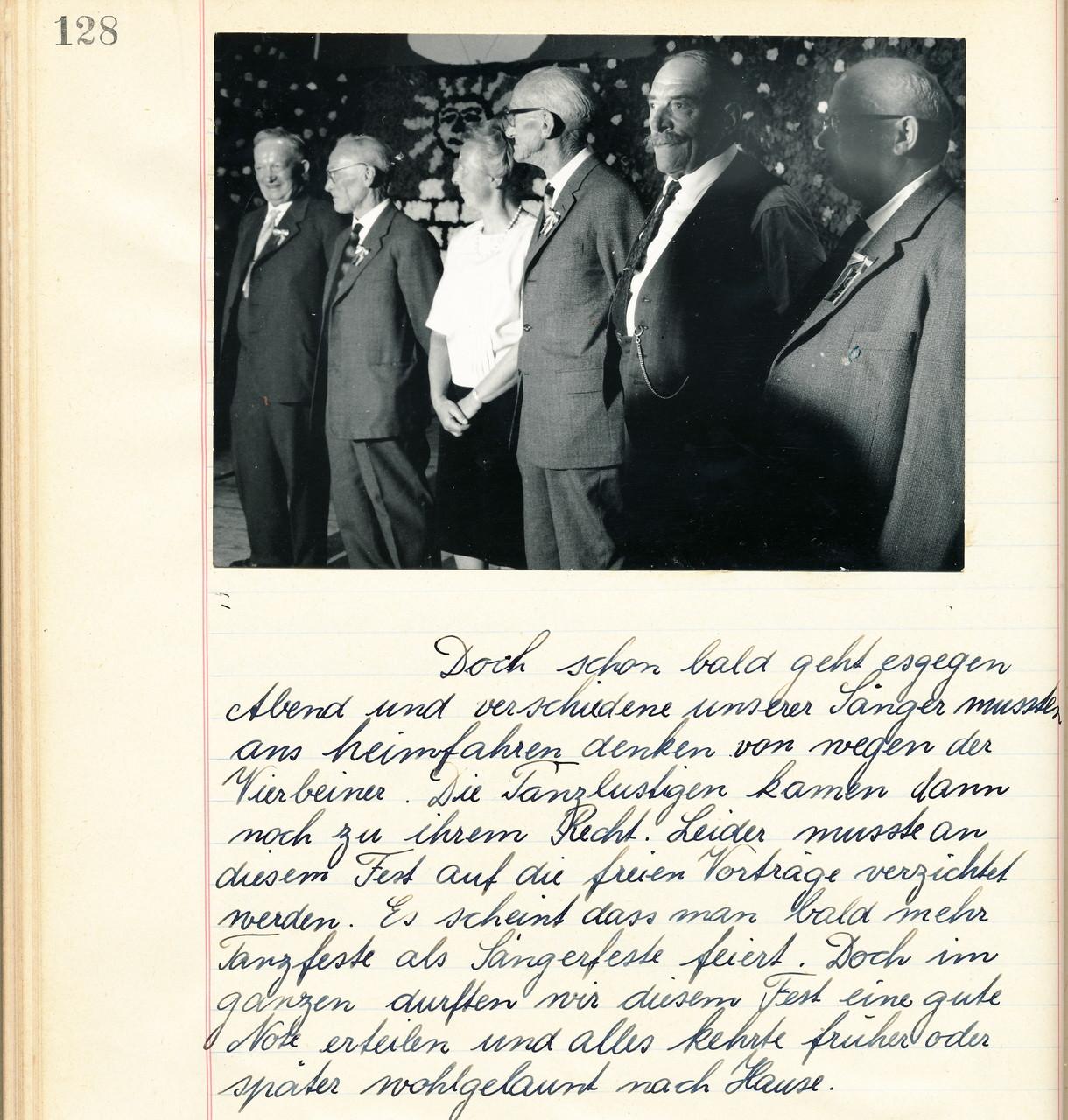 50 Jahre Mitglied im MCB / Veteranenehrung von Dirigent Ruedi Mäder und seinem Bruder Alfred Mäder::1962