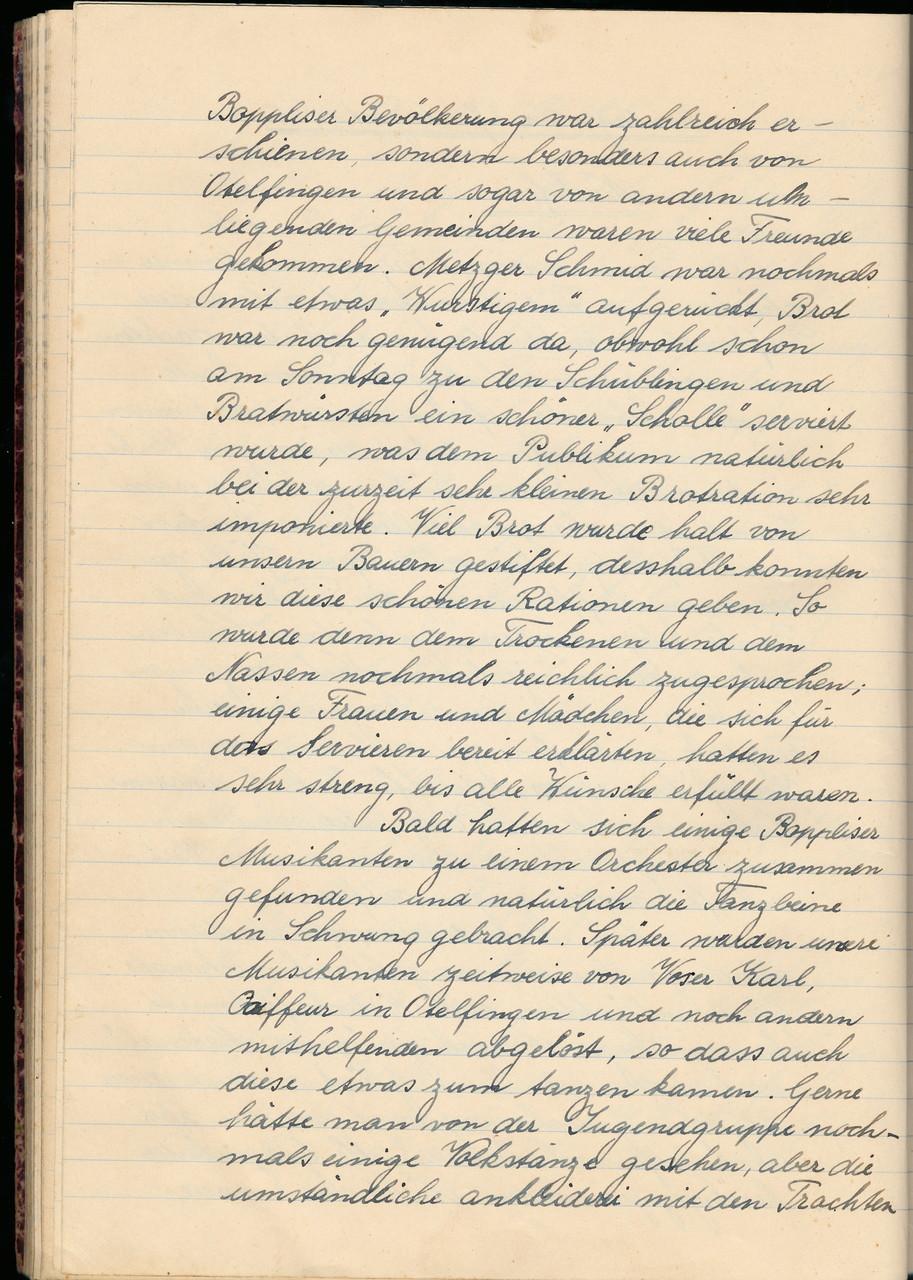 «Nachfeier» am Mo und Di / Seite 2 von 3