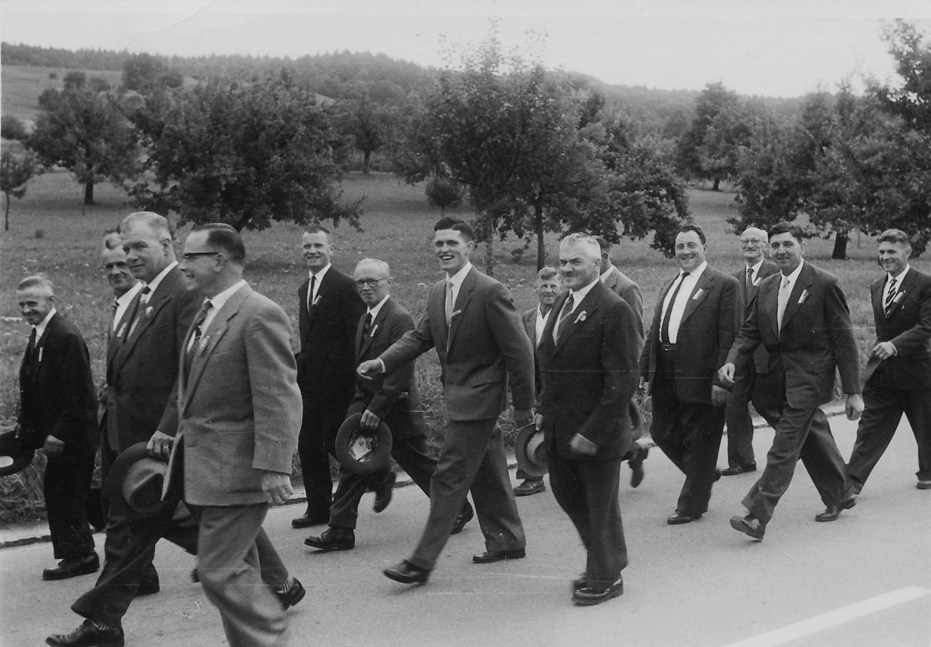 1971 Marsch von Schöfflisdorf nach Oberweningen