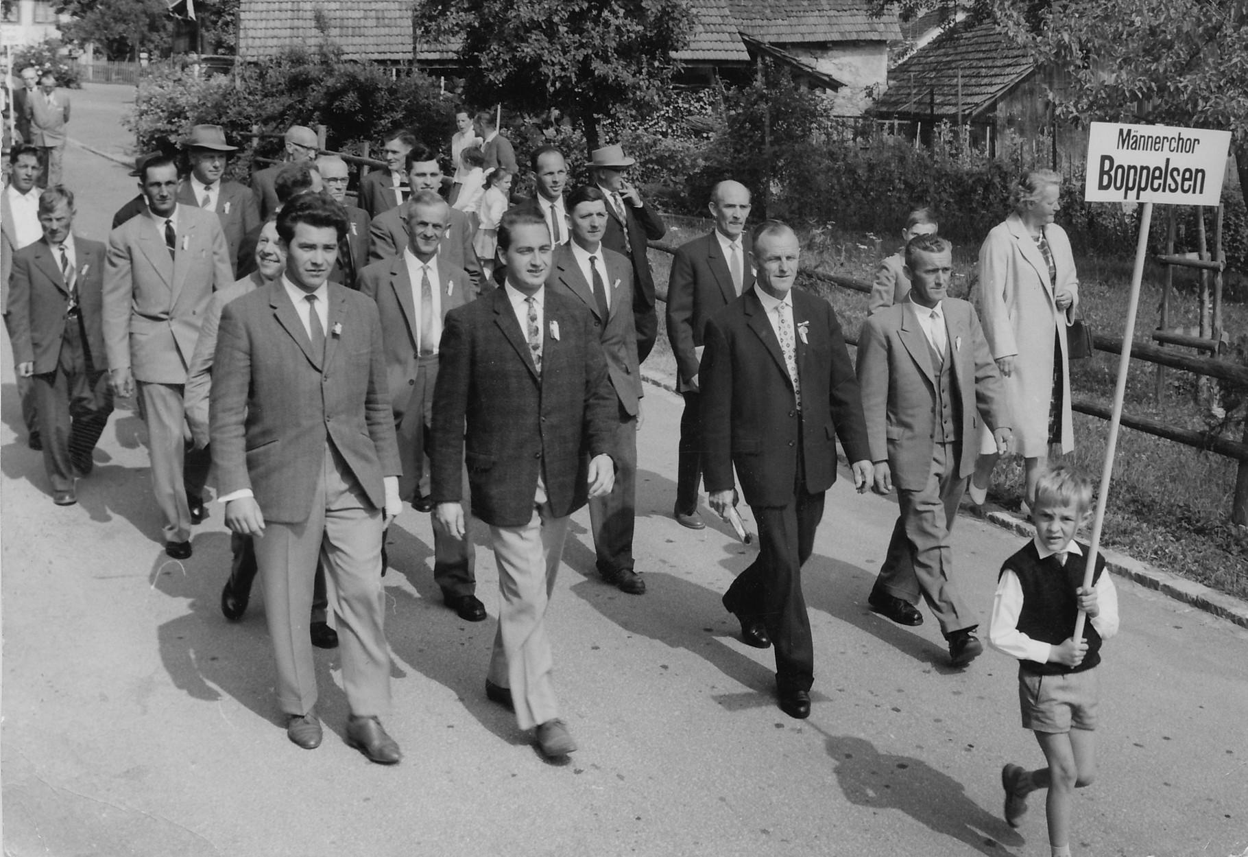 Marsch durch Sünikon::1962