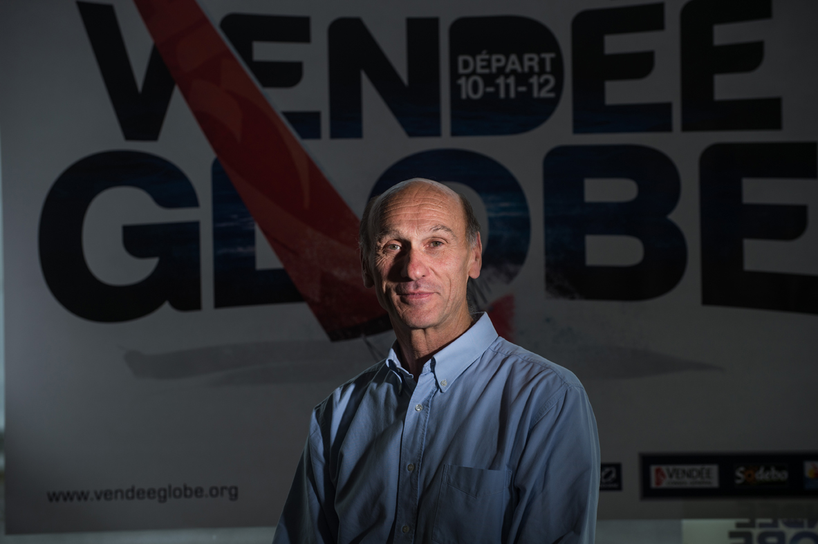 Denis Horeau, directeur de course Vendée Globe - Race director of the « Vendée Globe » / L'Express (2012)