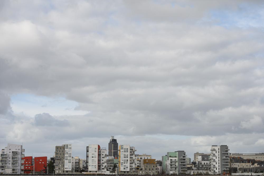 Ville de Nantes, skyline - City of Nantes