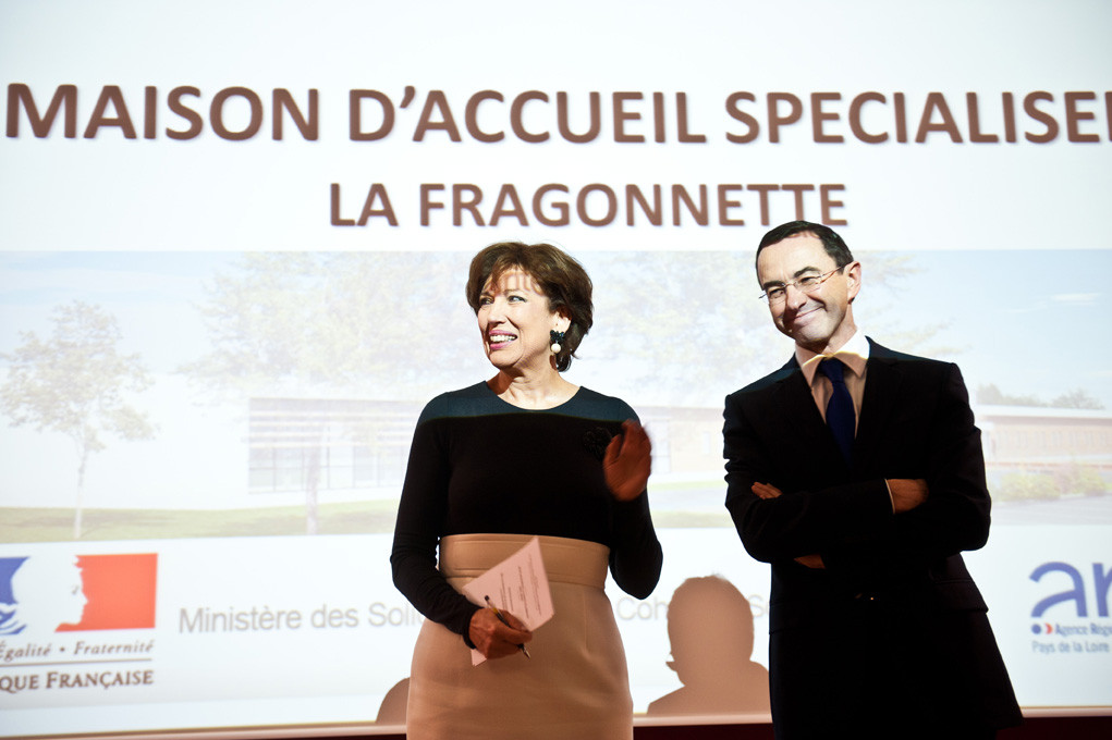 Roselyne Bachelot et Bruno Retailleau - Political personalities / L'Express (2012)