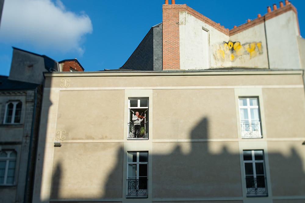 Nantes, confinement - Days of confinment