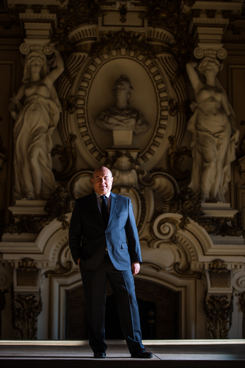 Serge Babary, maire de Tours - Mayor of Tours / L'Express (2015)