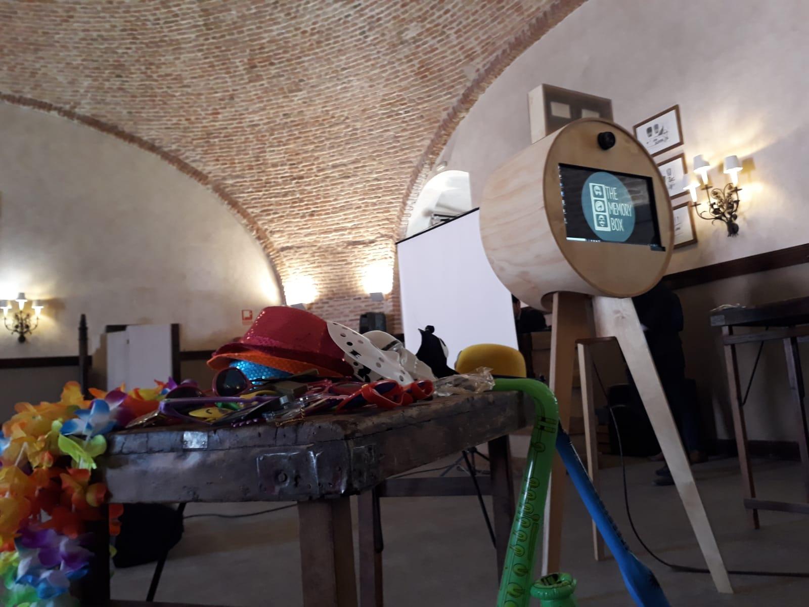 Fotomatón de Madera con el Espacio de Atrezzo : )