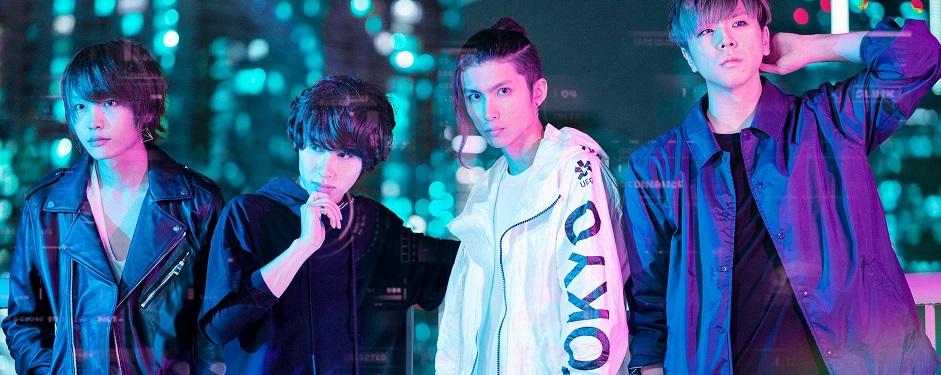 Oktober 2018; von links nach rechts: Ryusei, Ray, Arata, Reiji