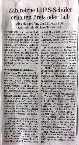 Gränzbote 14.Juli 2014