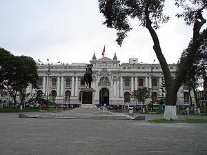 Il palazzo del congresso della Repubblica, Lima Capitale Perù