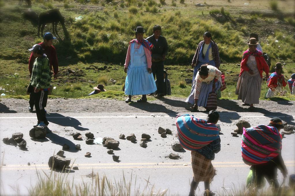 Zona al confine della Bolivia