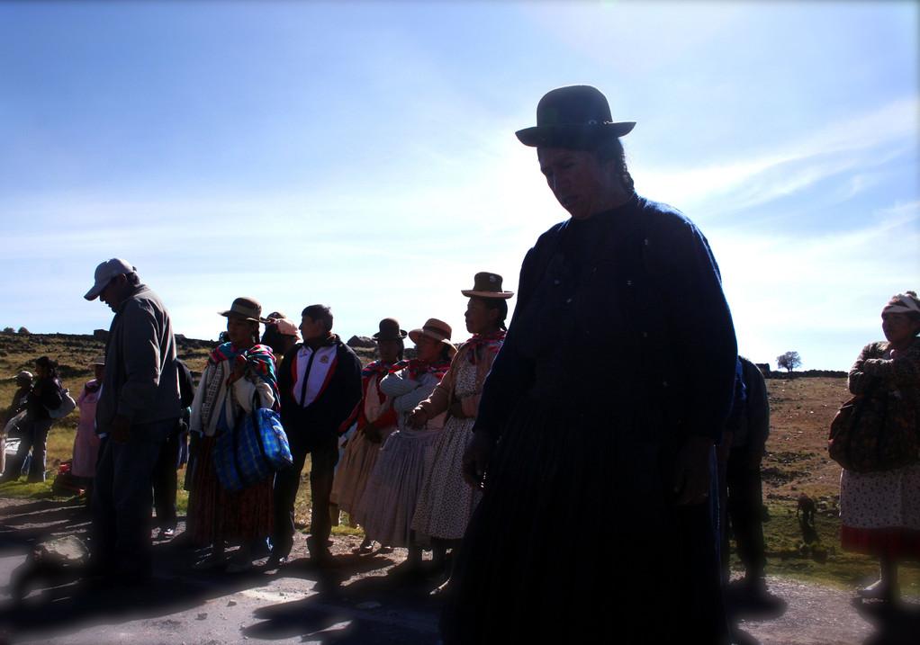Puno Perù tra il Titikaka e la Cordigliera blanca