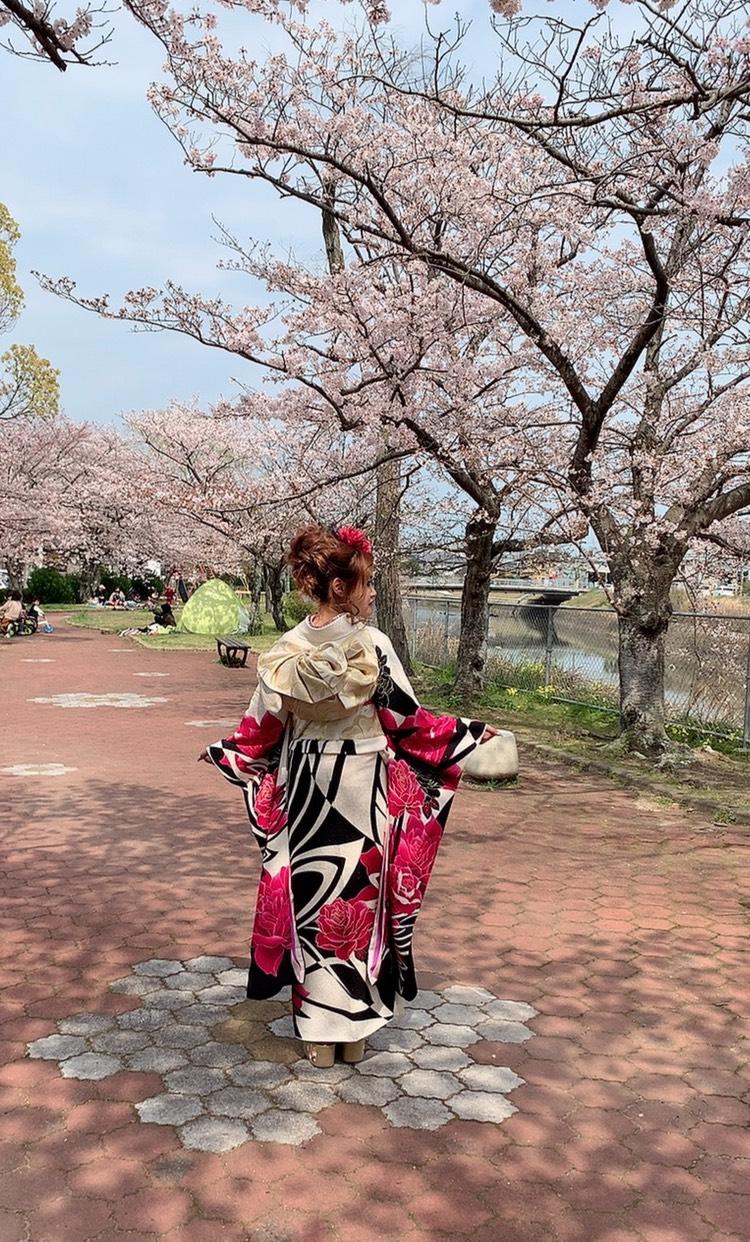 ちょうど桜も咲いててロケもgood‼️
