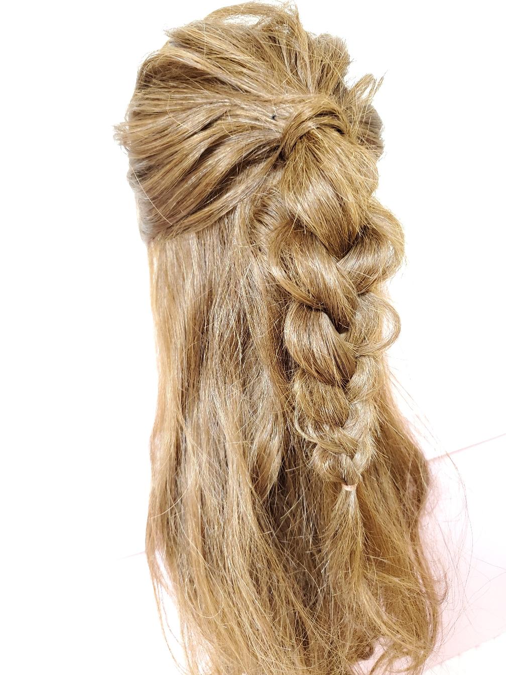 ん~、毛子ちゃん、さすが❗髪の毛多いね…