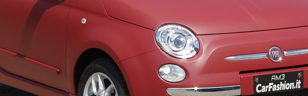 Fiat 500 - Wrapping completo