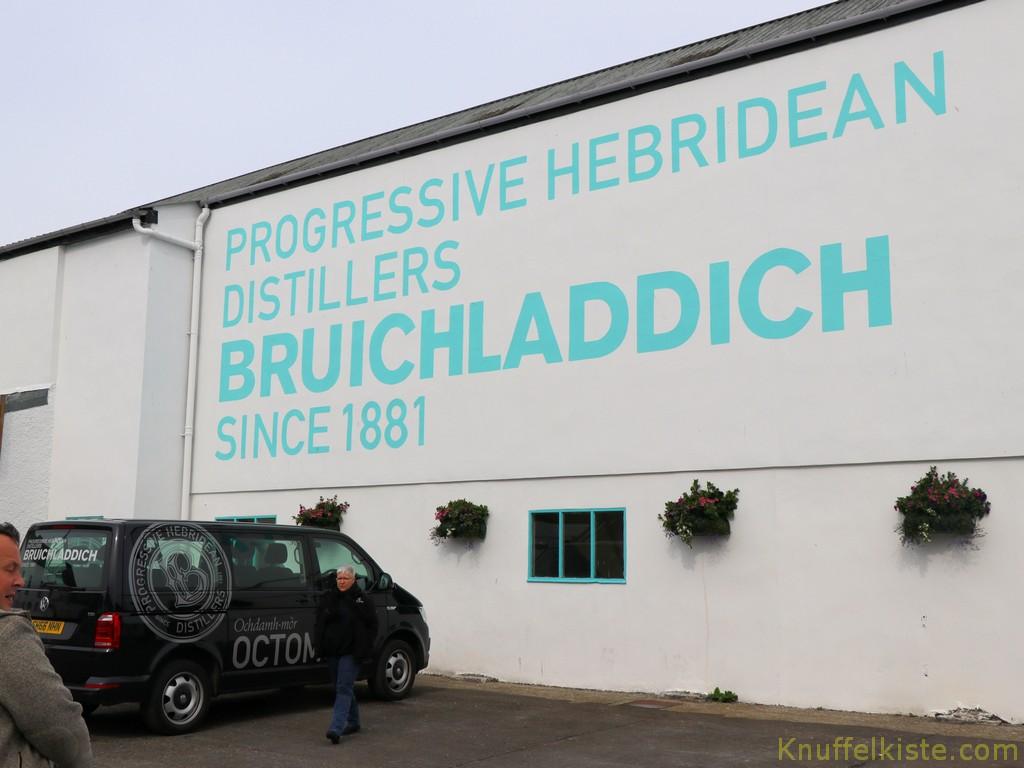 bei Bruichladdich!