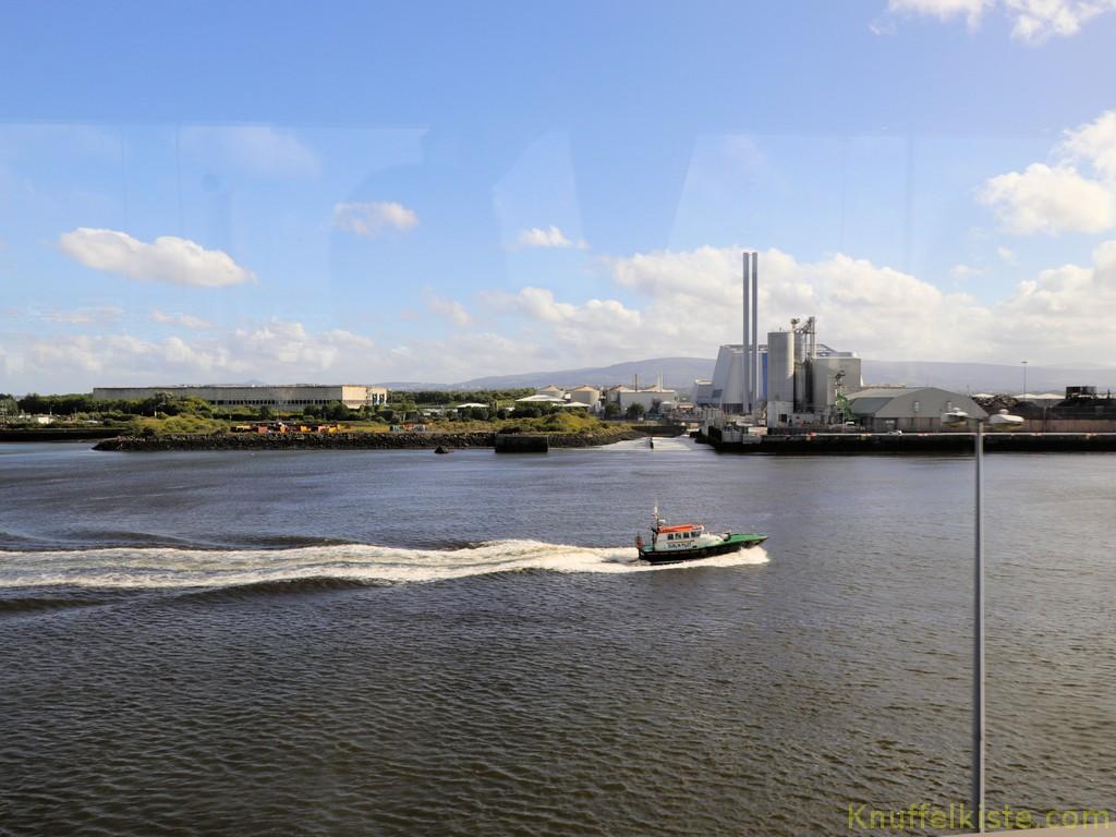 Hafen von Dublin!