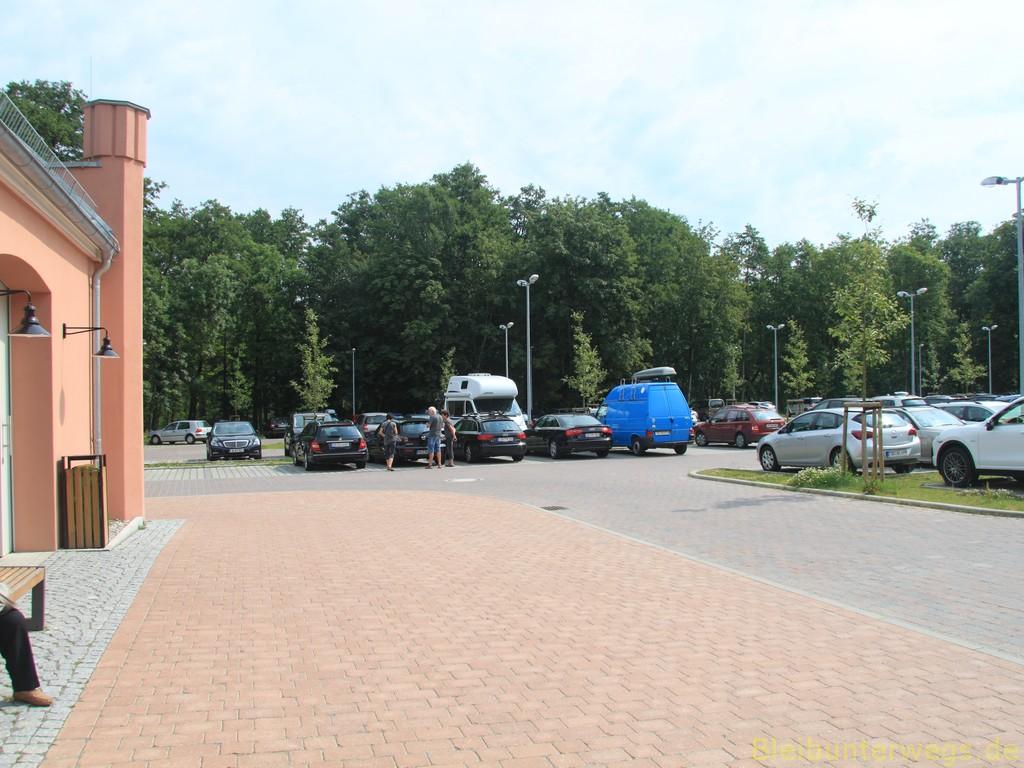 Parkplatz am Baumwipfelpfad