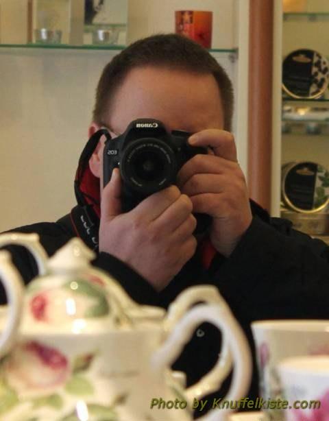 Foto im Spiegel