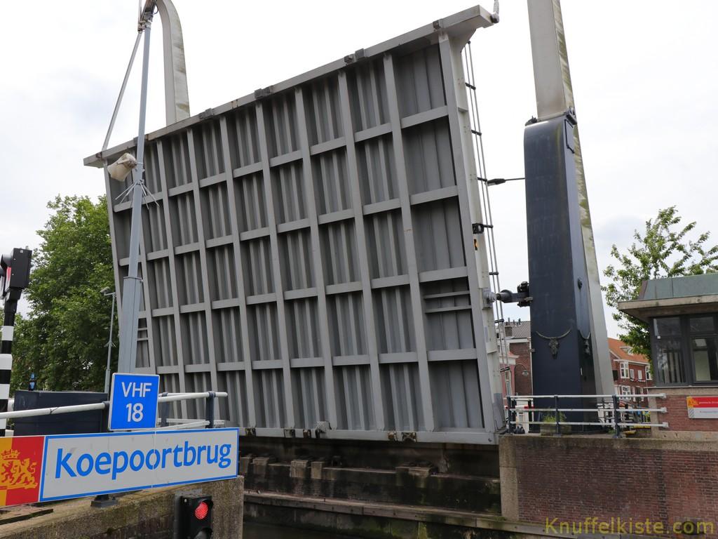 in Delft angekommen