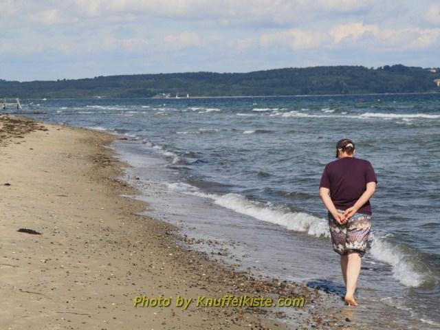 Gabi am Strand