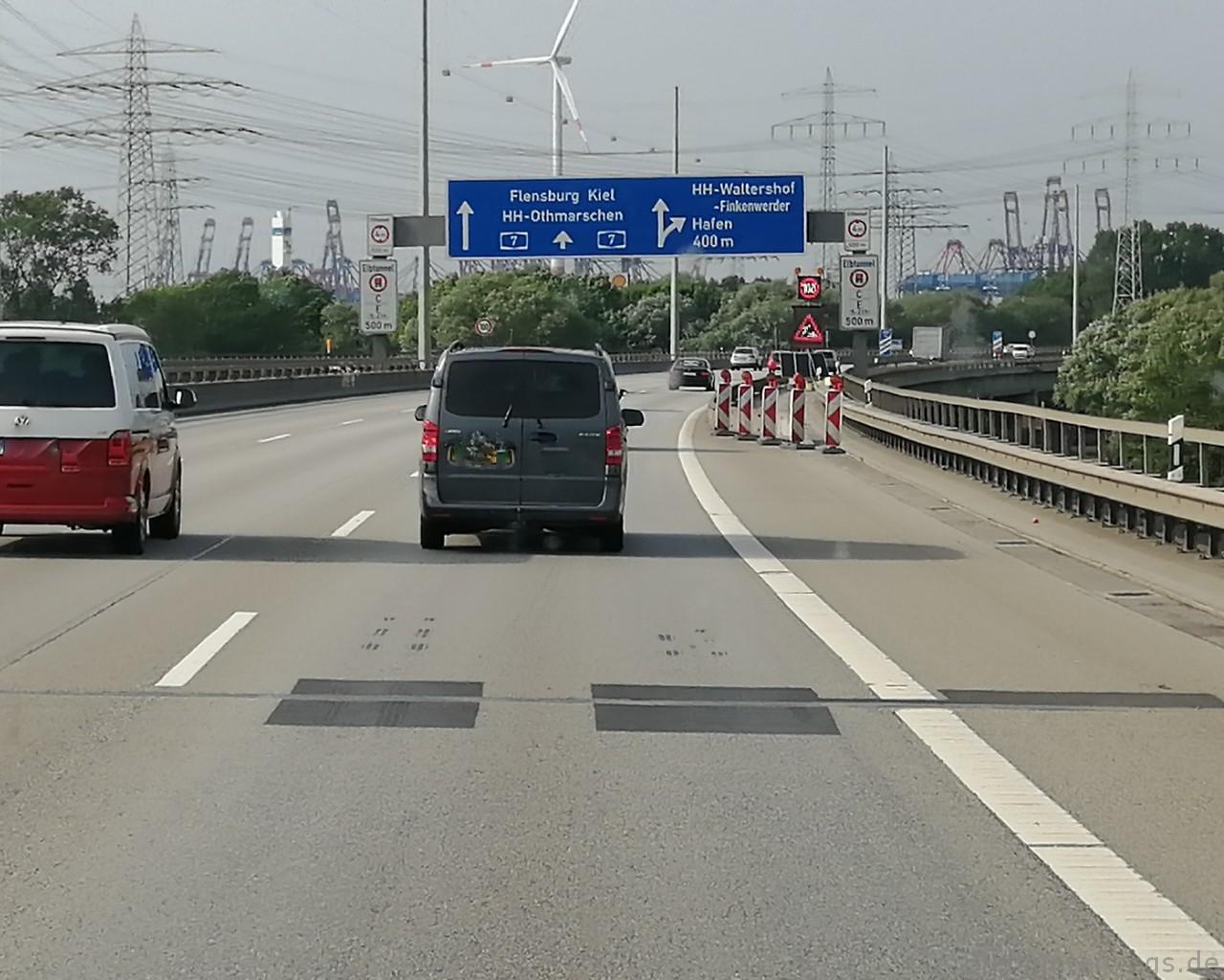 Hamburg Autobahn