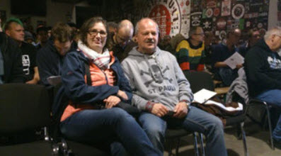 Sabine als Stellvertreterin und Thomas M. waren anwesend.