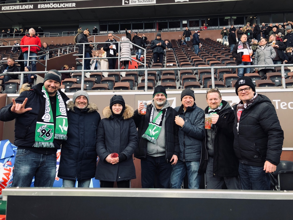 Mit Deaf-Fanclub Hannover 96