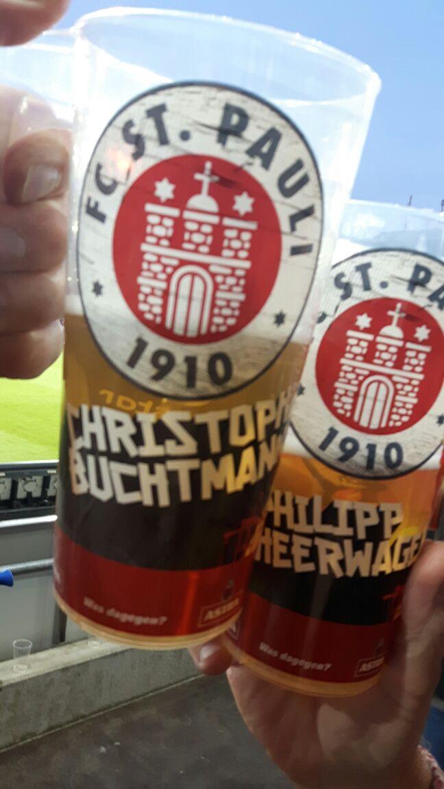 Astra-Bier schmeckt am Besten