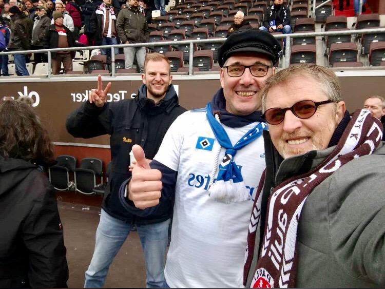 Holger J., dahinter Florian