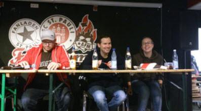Vorstand von den Fanclubsprecherrat (FCSR)