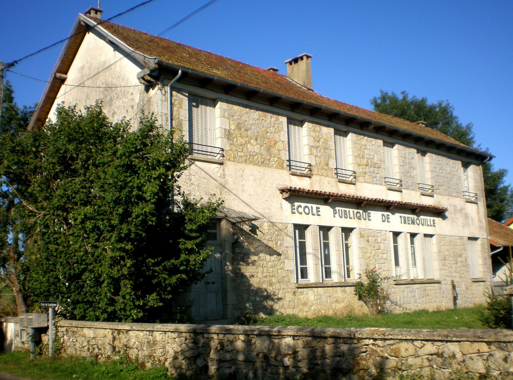 Ecole de Trémouille (Ladinhac)