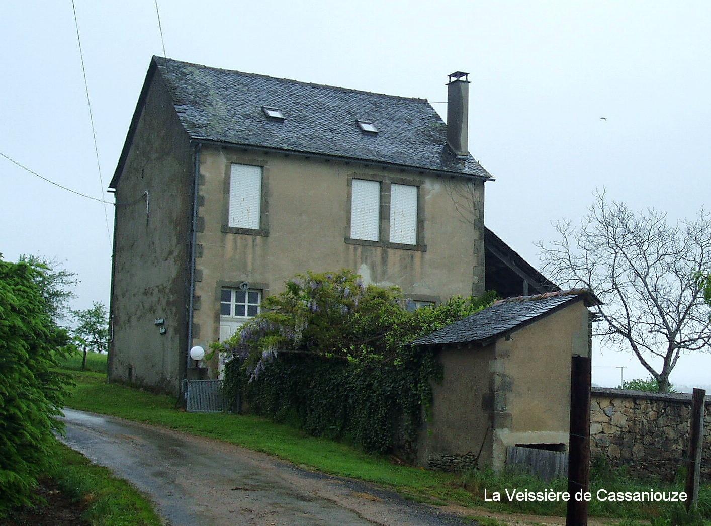 Maison d'école de Laveissière (Cassaniouze)