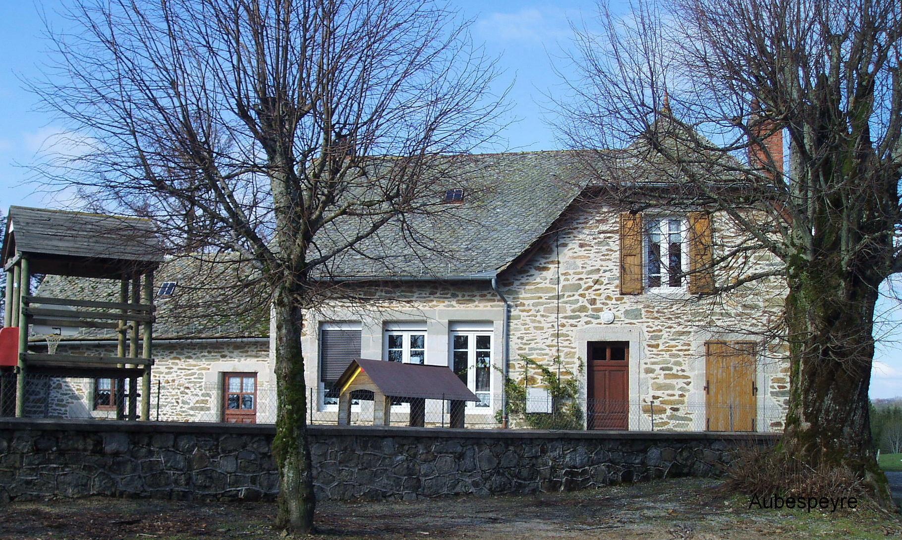 Ecole d'Aubespeyre (Junhac)