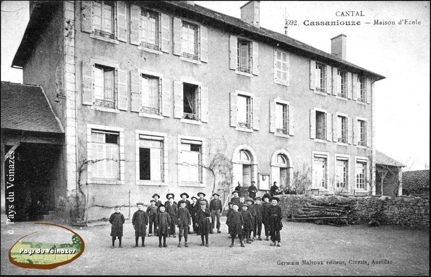 Groupe scolaire de Cassaniouze - Ed. G. Malroux.