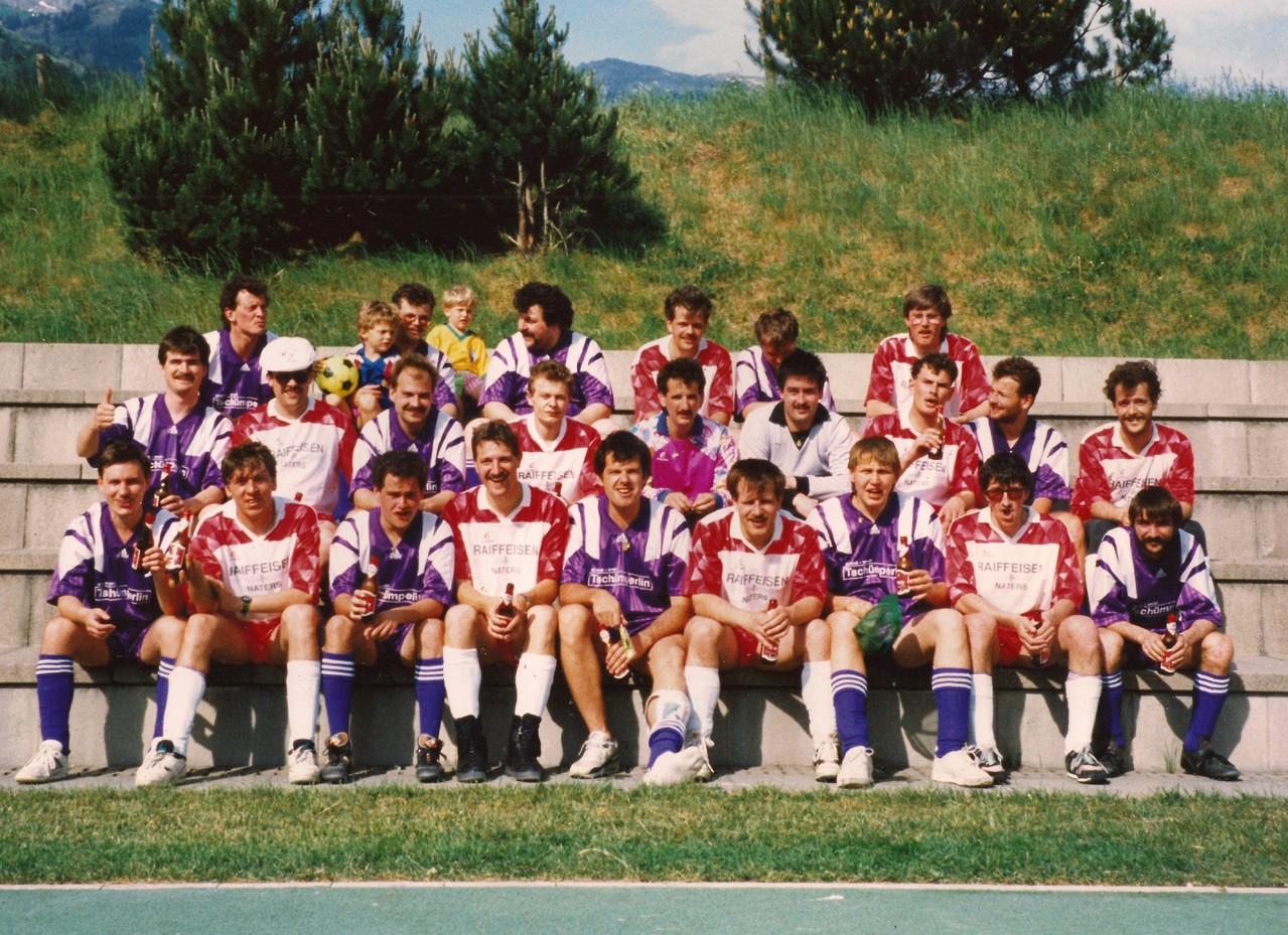 ZP Goldau - ZP Brig im Jahr 1993 in Schattdorf