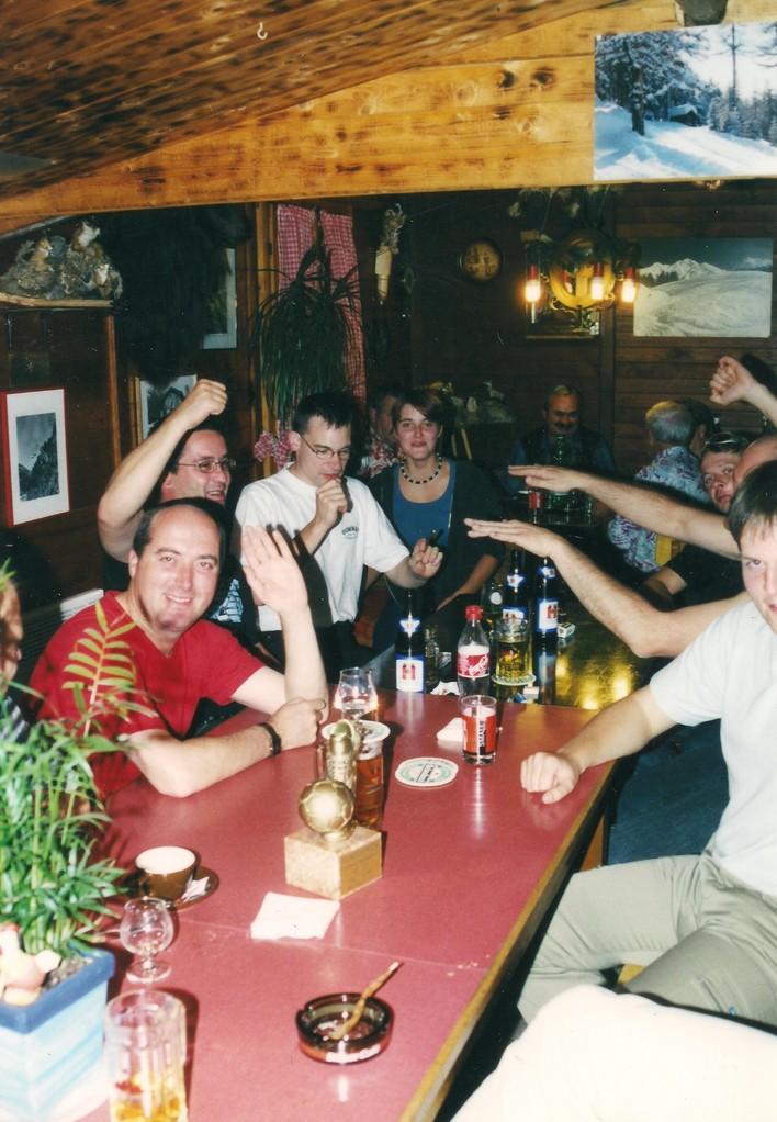 Fest auf der Tunetschalp im Jahr 2000