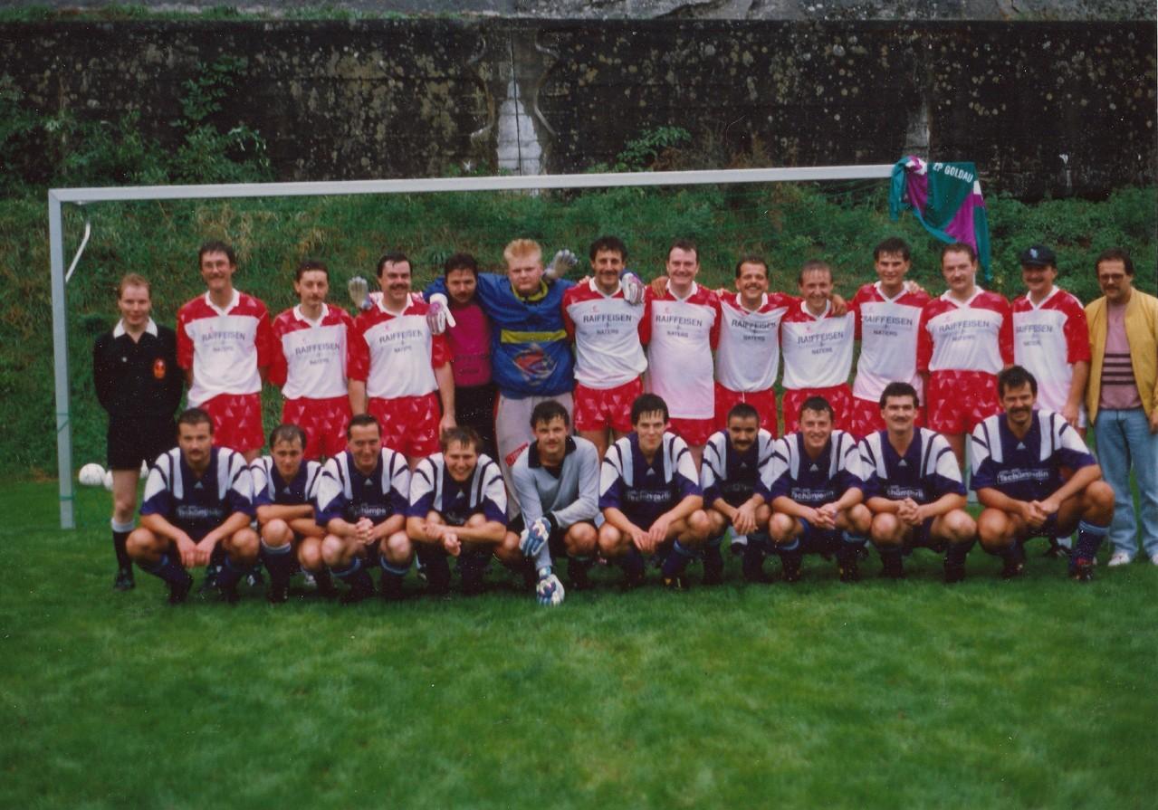 ZP Brig - ZP Goldau im Jahr 1992 in Bitsch