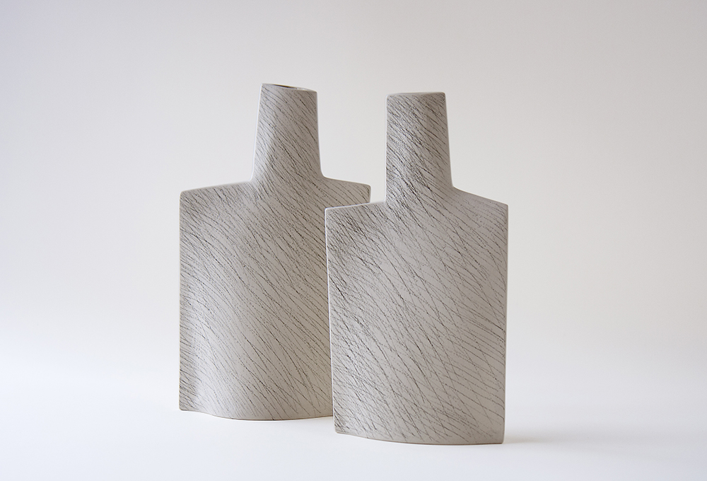 Guido De Zan vases