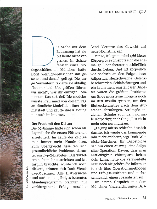 Diabetes Ratgeber 02/2020 Seite 31