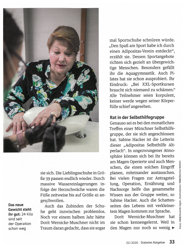 Diabetes Ratgeber 02/2020 Seite 33