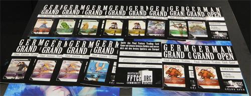 Unsere Grand Open Flyer kommen mit einer gratis C oder R - oder gar der wertvollsten aller Karten: Gumbah! Wir bedanken uns herzlich im Namen aller Spender!