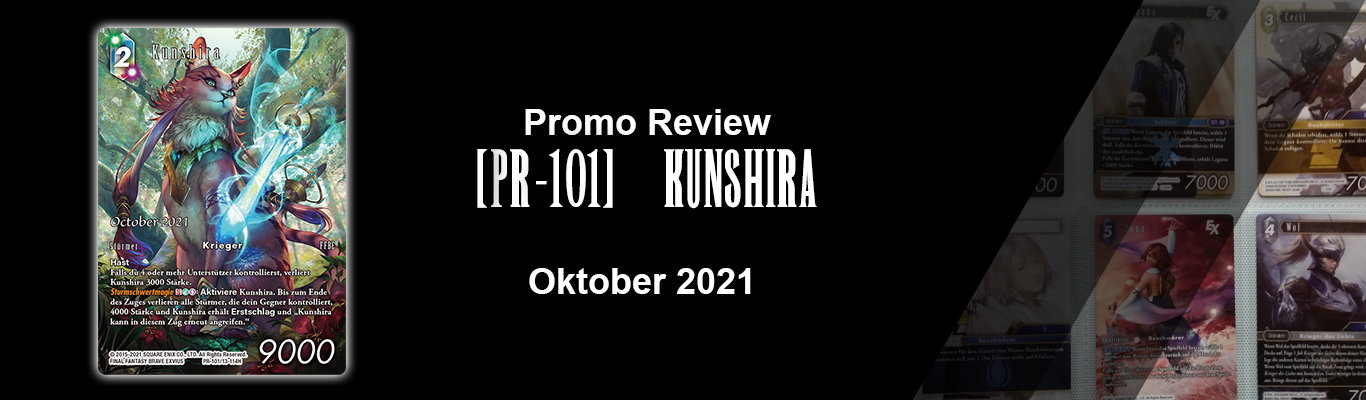 Oktober 2021 Promo: [PR-101] Kunshira