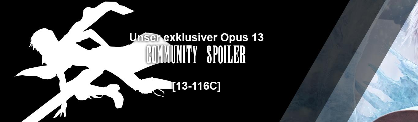 Unser Opus XIII Community Spoiler
